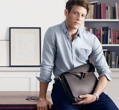 Just James Norton, James Norton in the campaign for Smythson. From...