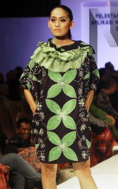 Gedangsari #03 | N-Style in #Yogyakarta #Fashion Forecasting 2015 with #Batik created by junior high school students from the region Gedangsari, #Gunungkidul, #Yogyakarta