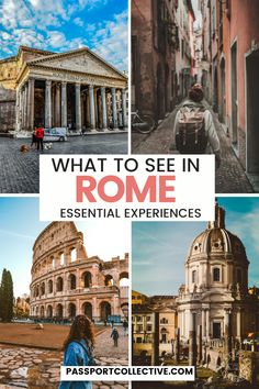 Dreaming of a trip to Rome? We've got you covered with the best travel guide to Rome. Discover all of the essential Rome attractions as well as local secrets. Created with the help of a local Roman guide, you'll see the best that Rome has to offer: The Pantheon, Spanish Steps and more! Get your walking shoes on because we're going to Rome! #rome #italy #italia #travel Italy Travel Tips, Europe Travel Guide, Rome Travel, Travel Guides, Italy Destinations, Top Travel Destinations, Italy Honeymoon, Italy Vacation, Italy Trip