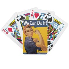 Playing Cards-Rosie the Riveter
