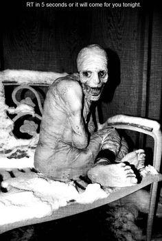 Pretty creepy