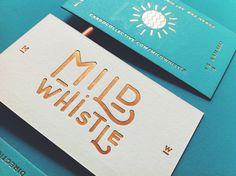Mild Whistle  by Oddds, via Behance