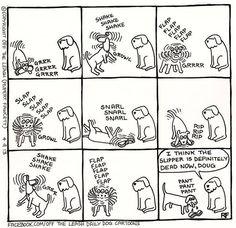Facebook.com/Off The Leash Daily Dog Cartoons-Rupert Fawcett
