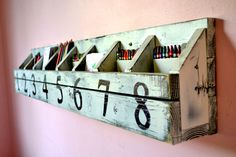 Ana White | Build a Numbered Cubbies on the Wall | Free and Easy DIY Project and Furniture Plans