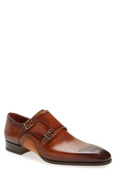 Magnanni 'Apolo' Double Monk Strap Shoe (Men) available at #Nordstrom