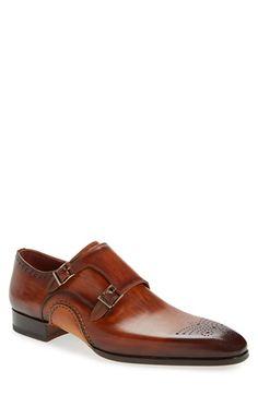 Magnanni 'Apolo' Double Monk Strap Shoe (Men)