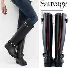 Online Shop High Reputation Fashion Rubber Women Hunte Rain Boot Long Motorcycle Rainboots Western Women Autumn Rain Boots Free Shipping|Aliexpress Mobile