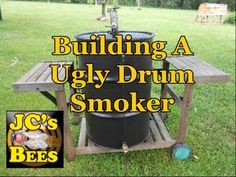 Building A Ugly Drum Smoker - YouTube