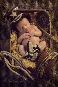 cowboy newborn photos | baby cowboy by megannn