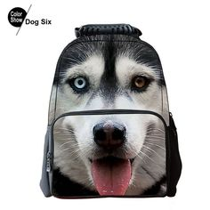 4729041b65ad Cool Children Animal Felt Backpack Men s Backpack Crazy Horse Printing Bag  For School Girls College Student Bagpack Retail