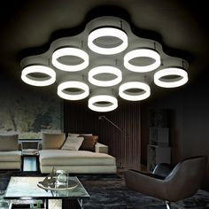 68.00$  Buy here - http://ali74u.worldwells.pw/go.php?t=32663214980 - Contracted and contemporary circular dome light sitting room the bedroom corridor lamp 85-265 - v AC acrylic light leds