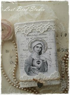 Altered matchbox - would also be lovely as a giveaway.
