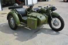 Dnepr MB750 Russian Military Motorcycle with Side Car