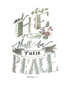 There is no greater peace than abiding in the Lord.