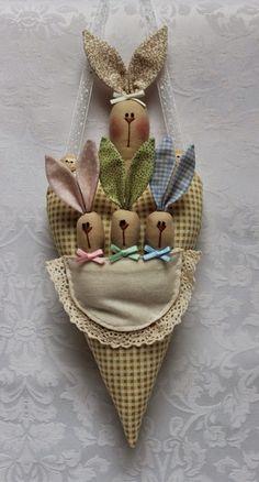 Guirlanda de Páscoa artesanal, Perfeita para decorar a entrada de sua casa com aquele toque de amor e desejar boas vindas aos que chegarem para celebrar a Páscoa com sua família!