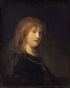 Rembrandt van Rijn - Saskia van Uylenburgh, the Wife of the Artist - Google Art Project - Rembrandt - Wikipedia, the free encyclopedia
