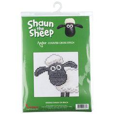Shaun The Sheep Cross-Stitch