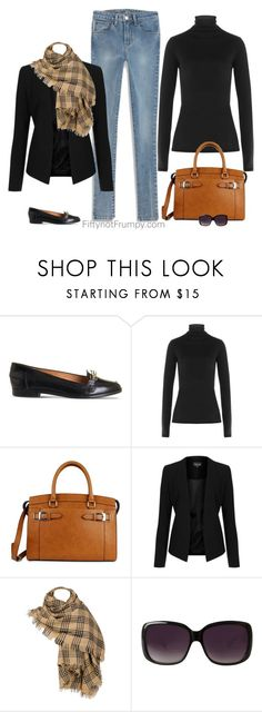 Checking my lists! by fiftynotfrumpy on Polyvore featuring Velvet, Topshop, Office, New Directions, Black Rivet, Merona and Levi's