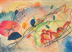 Wassily Kandinsky - Aquarell No. 6, 1911. Stedelijk Museum Amsterdam