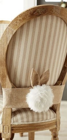 http://rubies.work/0546-sapphire-ring/ Cottontail with Ears | Easter | Buyer Select Spring Decorating Ideas