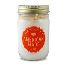 12 Oz. Mason Jar Soy Candle w/ Lid Employee Recognition, Branded Gifts, Client Gifts, Clothing Logo, Soy Candles, American Made, Martha Stewart, Mason Jars, Unique Gifts