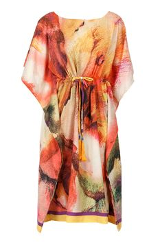 Multicolour kaftan dress available only at Pernia's Pop-Up Shop.