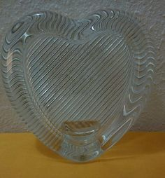 vintage mikasa heart shaped crystal picture frame japan mikasa - Mikasa Picture Frames