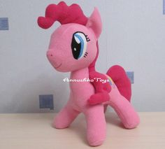 Pinkie pie pony mlp pinkie pie plush Pinkie pony pinkie pie party Custom pinkie pie toddler Handmade Pinkie pie Pinkie pie gift decor by AnnushkaToys on Etsy