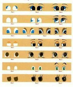 Como dibujar Ojos 4