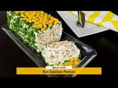 Rus Salatası Pastası Nasıl Yapılır? Salata Tarifi- Bir Dilim Lezzet - YouTube