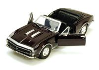 Show product details for 1967 Chevy Camaro SS, Burgundy - Showcasts 73301 - 1/24 scale Diecast Model Toy Car