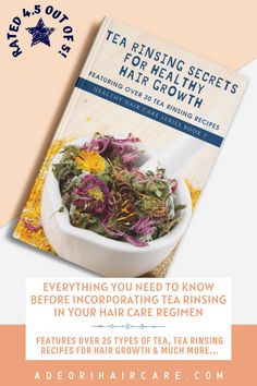 Everything you need to know before incorporating tea rinsing for hair growth in your hair care regimen. #haircare #curlyhair #beauty #hair #hairstyle #hairstyles #haircare #curlyhair #beauty #hair #naturalhaircare #naturalhaircareinformation #naturalhaircarebooks #curlyhaircare #curlyhaircarereading #curlyhaircarebooks #hairgrowthinformation #curlyhairgrowth #blackhairgrowth Curly Hair Growth, Black Hair Growth, Healthy Hair Growth, Curly Hair Care, Hair Growth Oil, Curly Hair Styles, Natural Hair Styles, Types Of Tea, Natural Haircare