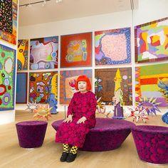 Iconic Artist Yayoi Kusama Comes Full Circle in Seattle