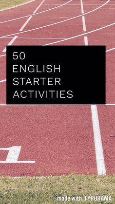50 minimal preparation starter activities for the GCSE English classroom. Ideas for both language and literature. || Ideas, activities and revision resources for teaching GCSE English || Check out my website www.gcse-english.com for more ideas and inspiration ||