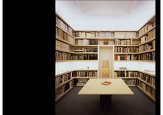 Vignelli Associates Office - Library