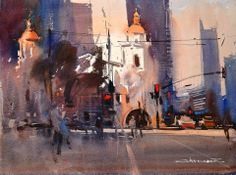 Eugen Chisnicean - January 18 Train station in San Diego, California