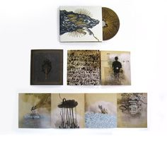 Gorgeous CD packaging design from Brian Danaher. Incredible texture and depth to this piece!