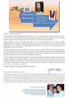 Unione Cuochi Valle d'Aosta - Blog ufficiale: Lettera di presentazione - Candidato Presidente Un...