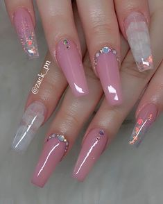 Are you looking for pretty nail design ideas? If so, check our collection of nail art images quickly! There are Coffin nails, French nails, and matte nails Cute Acrylic Nail Designs, Pretty Nail Designs, Nail Art Designs, Nails Design, Cute Designs, Pink Acrylic Nails, Gel Nails, Coffin Nails, Pink Acrylics