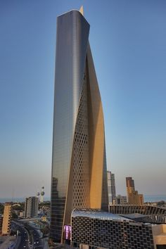 Al Hmara Tower, the skyscraper in Kuwait