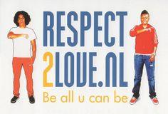 Hopontwerp: Respect 2 love logo