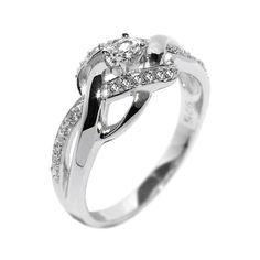 Silvego Elegantní stříbrný prsten EWER02989 | Sperky.cz
