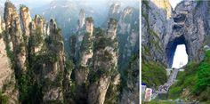 Parque forestal nacional de Zhangjiajie. China