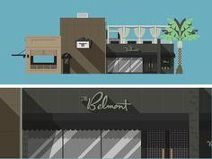 Belmont Flat Illustration (SXSW 2014)