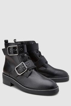 0dd60b326 Womens Next Black Signature Comfort Buckle Boots - Black. Irene Bogachuk ·  shoes