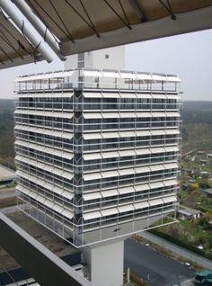Olivetti Headquarters, Egon Eiermann | Frankfurt | Germany | MIMOA