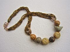 Art Jewelry Elements: Braided Bead Rope Tutorial