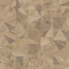 Met recht mag de Design Serie wel de meest bijzondere collectie van Therdex genoemd worden. Bijzondere vormen en structuren geven elke ruimte een zeer bijzonder karakter. Tip: bekijk de vloer altijd op een groter oppervlak om het bijzondere effect goed te kunnen zien.  Groot praktisch voordeel is dat het product als planken of tegels geleverd wordt. Dus geen puzzel van allerlei delen, maar eenvoudig te installeren. Wood Texture, Tile Floor, Flooring, Rugs, Pattern, Crafts, Design, Home Decor, Personal Stylist