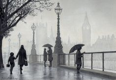 Watch how to draw this Misty London Scene using just 5 Pastel Pencils with Colin Bradley's Tutorial