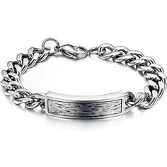 Titanium Steel Chain Bracelet